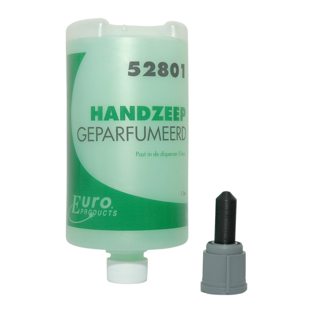 Euro Products | Handzeep | Geparfumeerd | S-box | Flacon 6 x 1 liter