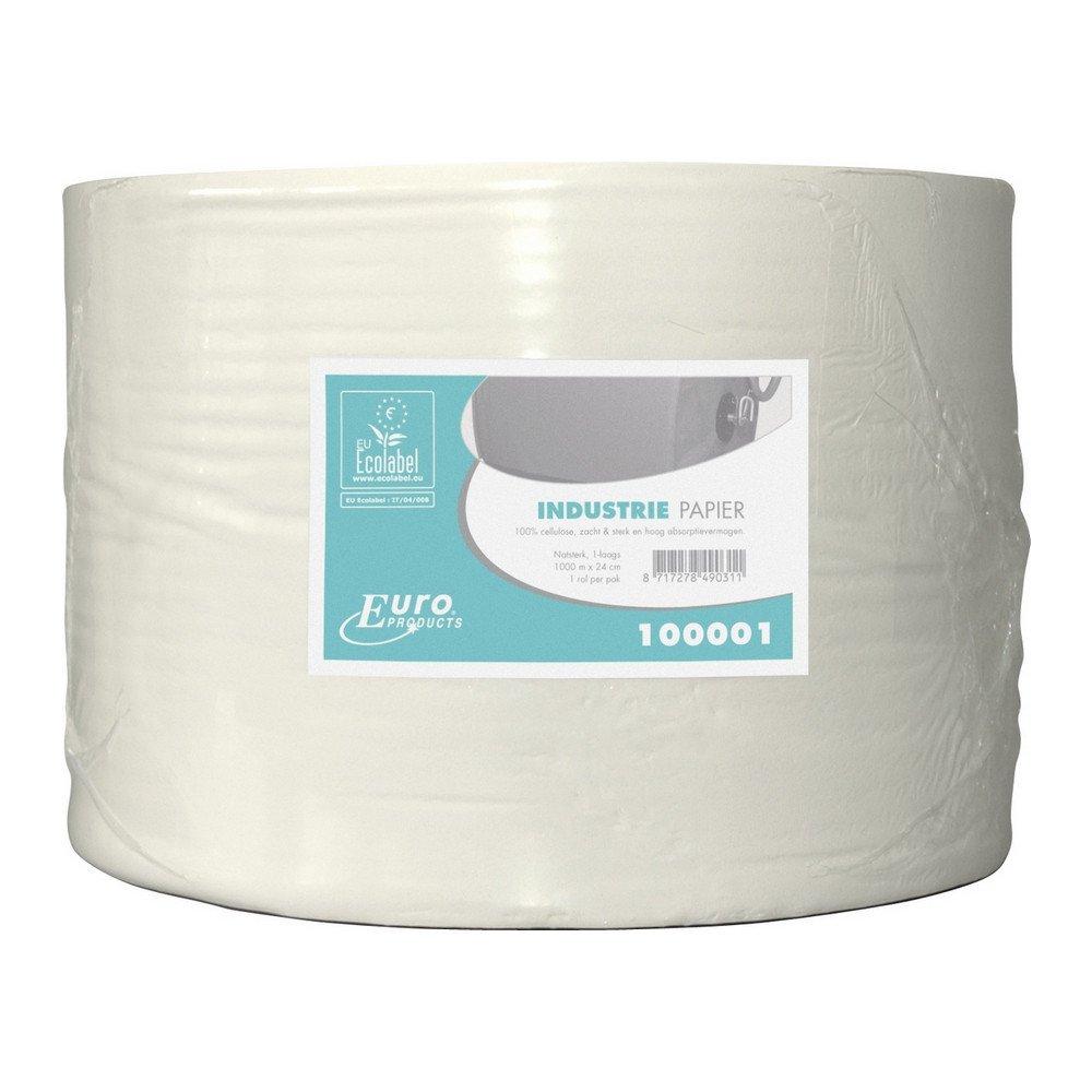 Industriepapier cellulose Eco 1-lgs 1x1000mtr 24cm
