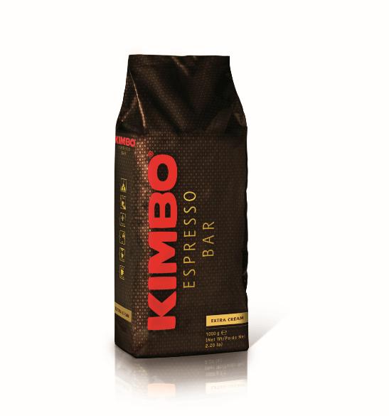 Kimbo | Extra Cream | Koffiebonen | Zak 6 x 1 kg