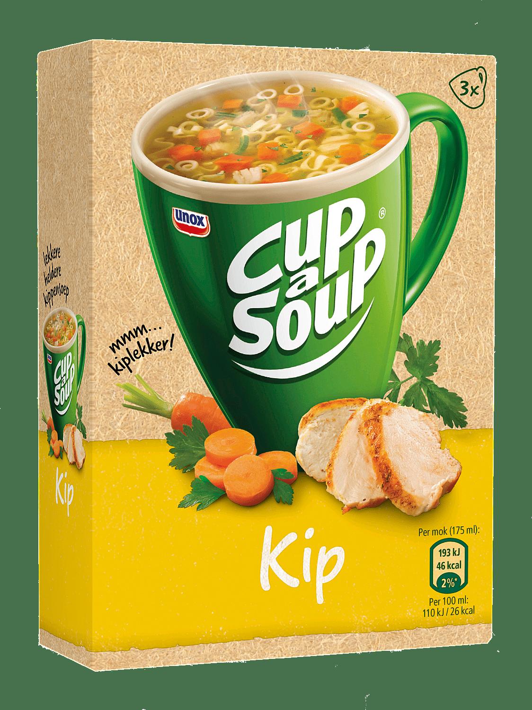 Unox Cup-a-Soup Kip 175 ml 21 stuks
