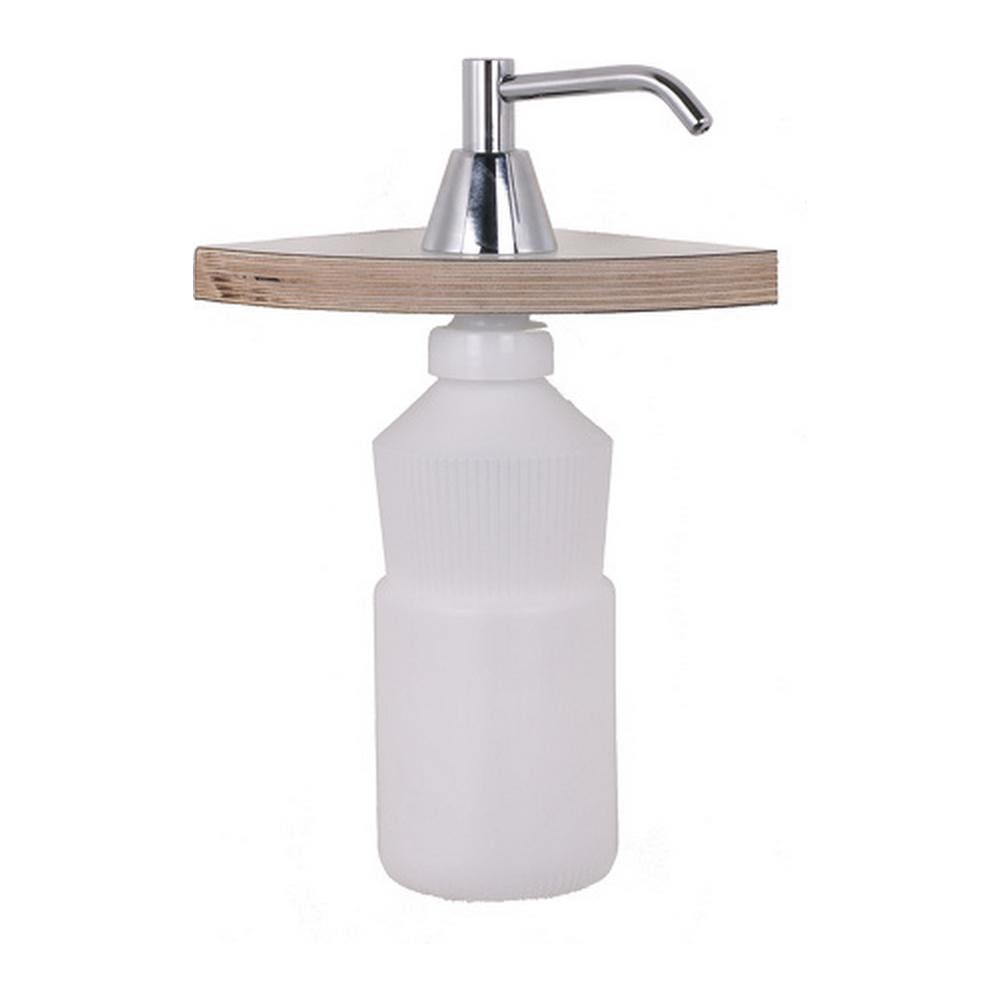Mediclinics | Inbouw zeepdispenser | 950ml | Chroom