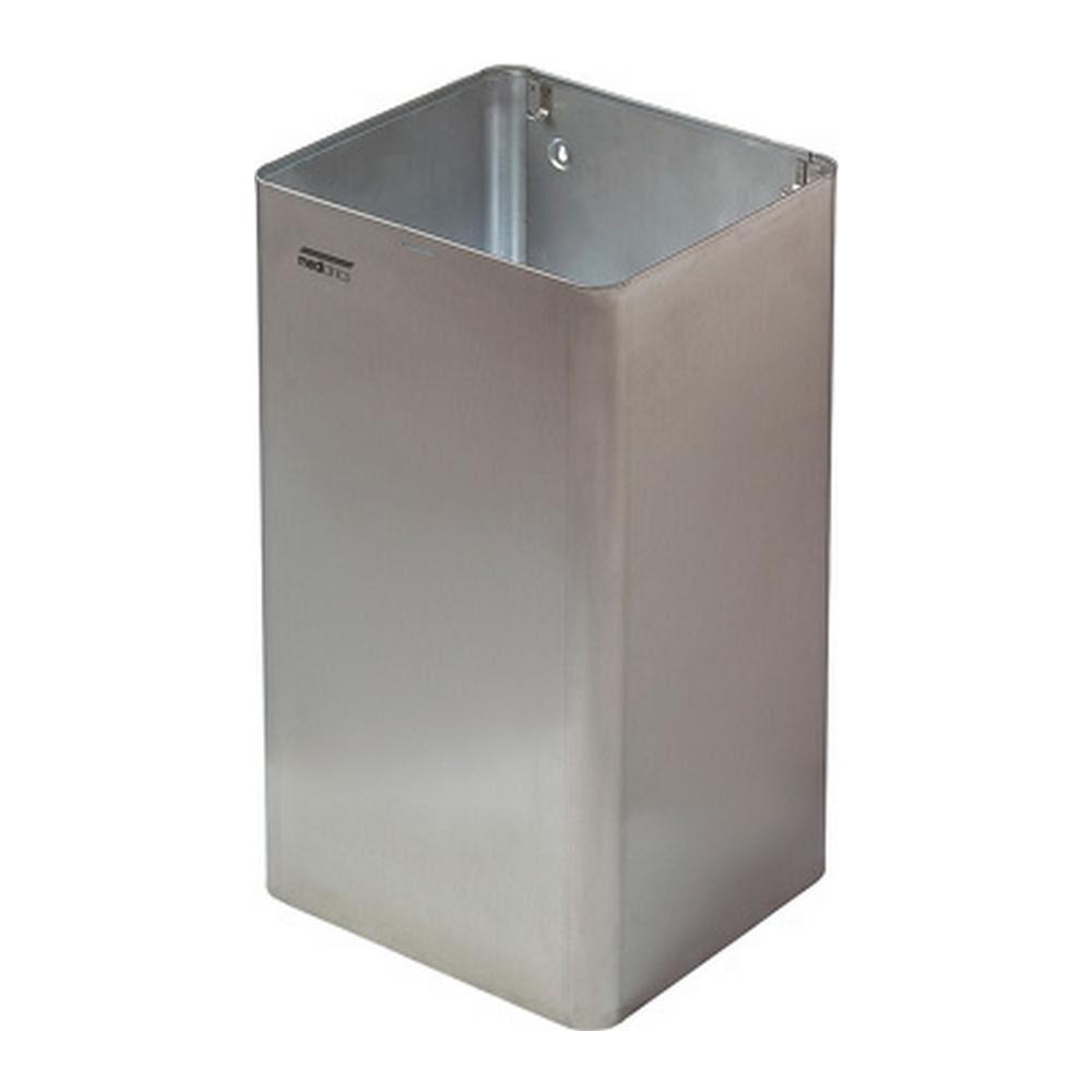 Mediclinics afvalbak RVS open 65 liter