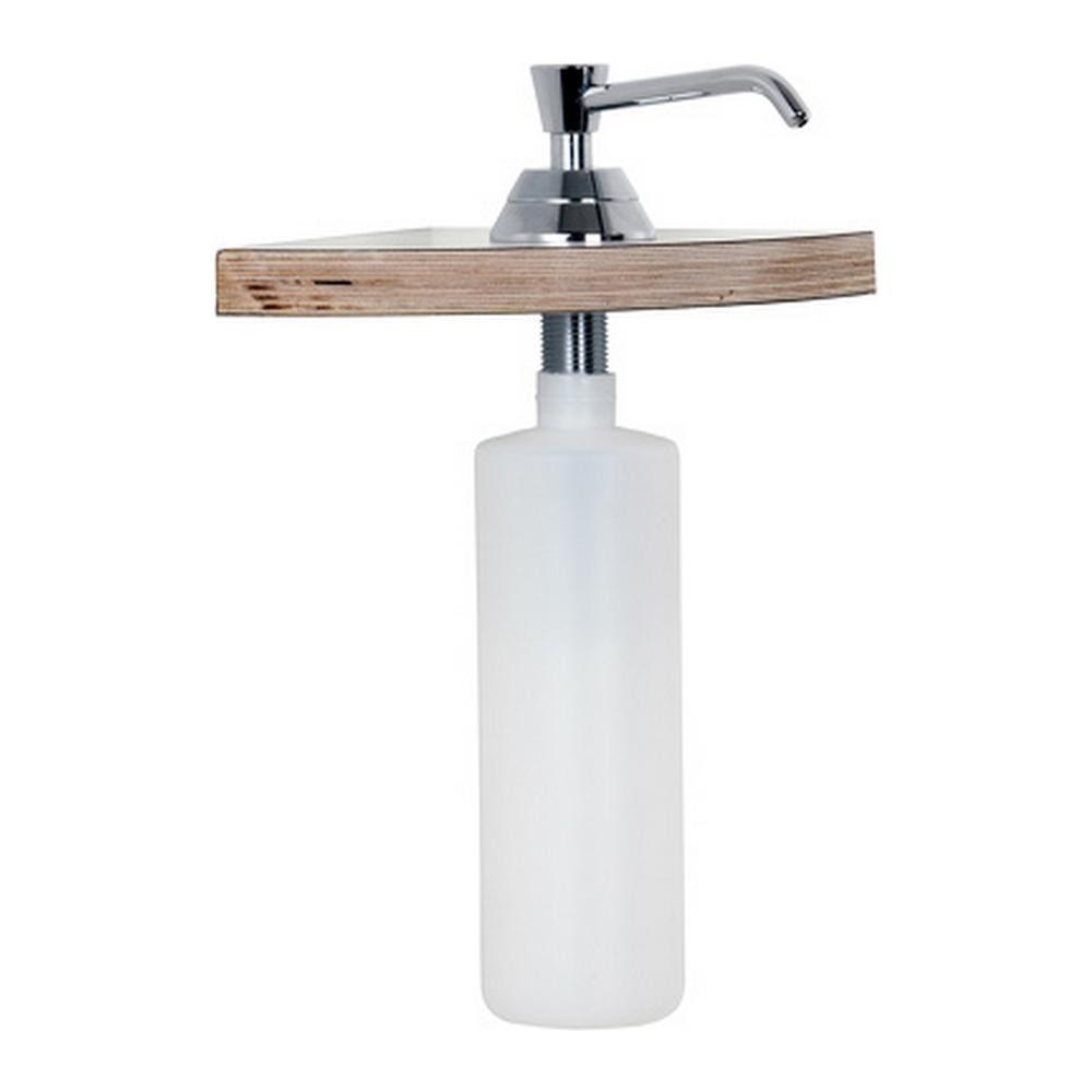 Mediclinics | Inbouw zeepdispenser | Hoogglans | 480 ml