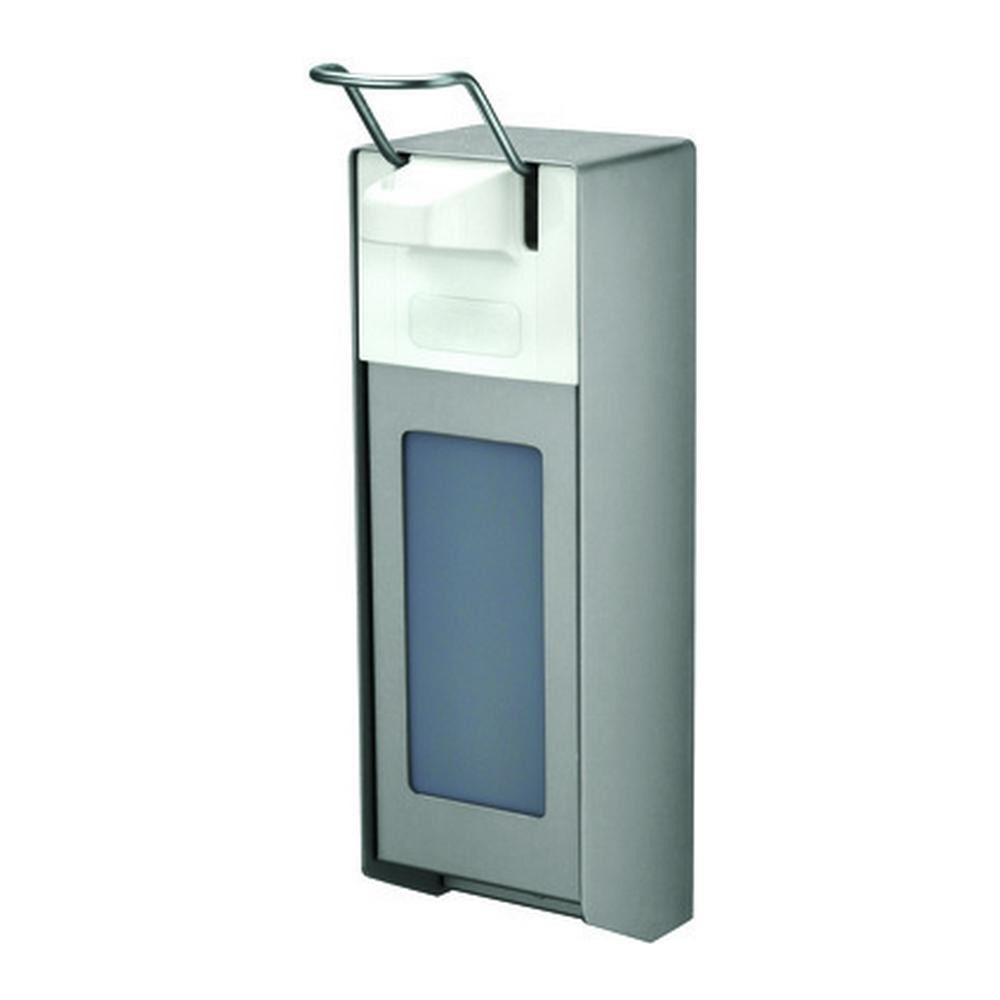 MediQoline Garagezeepdispenser 1000 ml aluminium