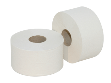 Euro Products | Mini Jumbo rol | Ecologisch Toiletpapier 2- laags | 12 x 180 meter