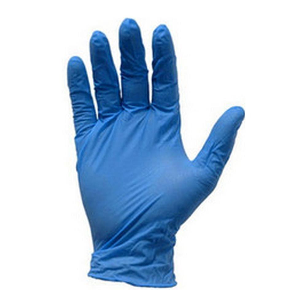 Nitril handschoen blauw ongepoederd L 100 st