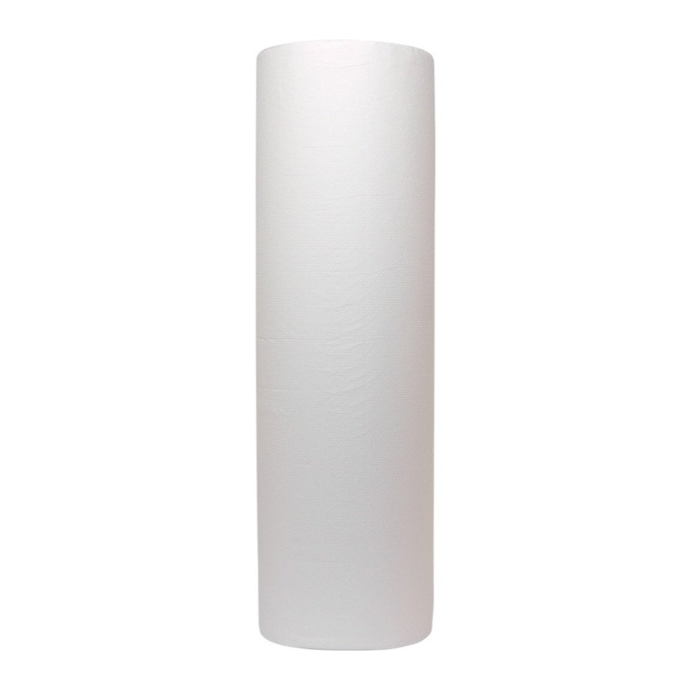 Onderzoekstafelpapier cellulose 45cm 2lgs 6x100mtr wit