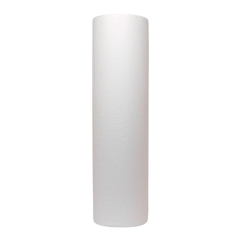 Euro Products | Onderzoekstafelpapier | Cellulose 2- laags | Wit | 50cm | 6 x 100 meter wit