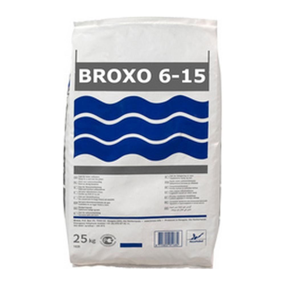 BROXO | Zout onthard | Grofheid: 6-15mm | Zak 25 kg
