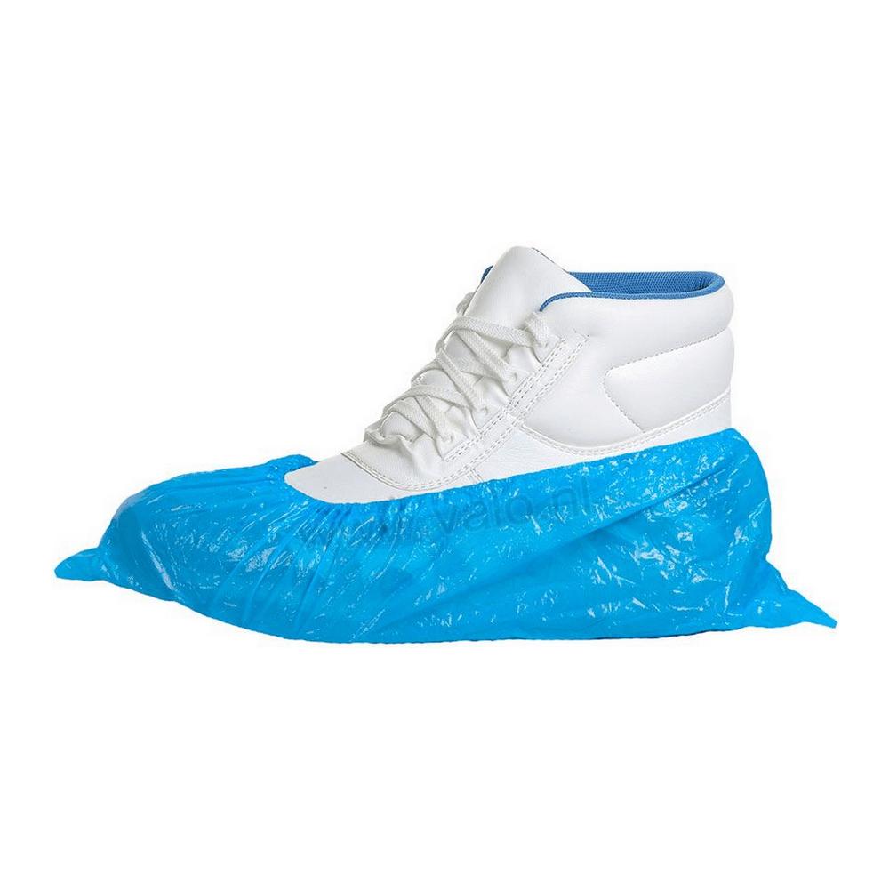Overschoen pp/pe 70my blauw 1000 st