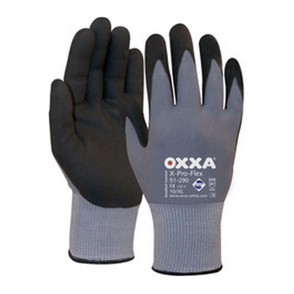 Oxxa handschoenen X-pro flex nft zwart maat 10