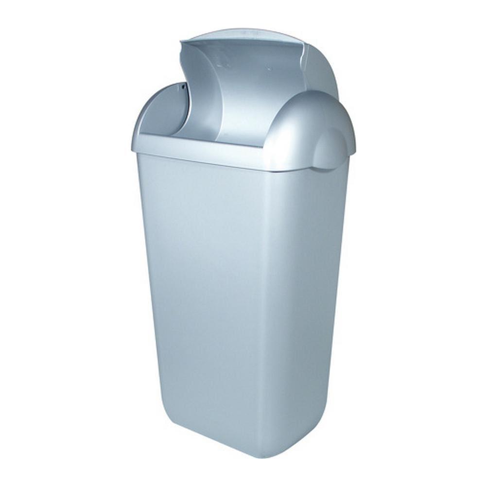 PlastiQline | Hygiënebak | Kunststof RVS look | Inhoud: 23 liter