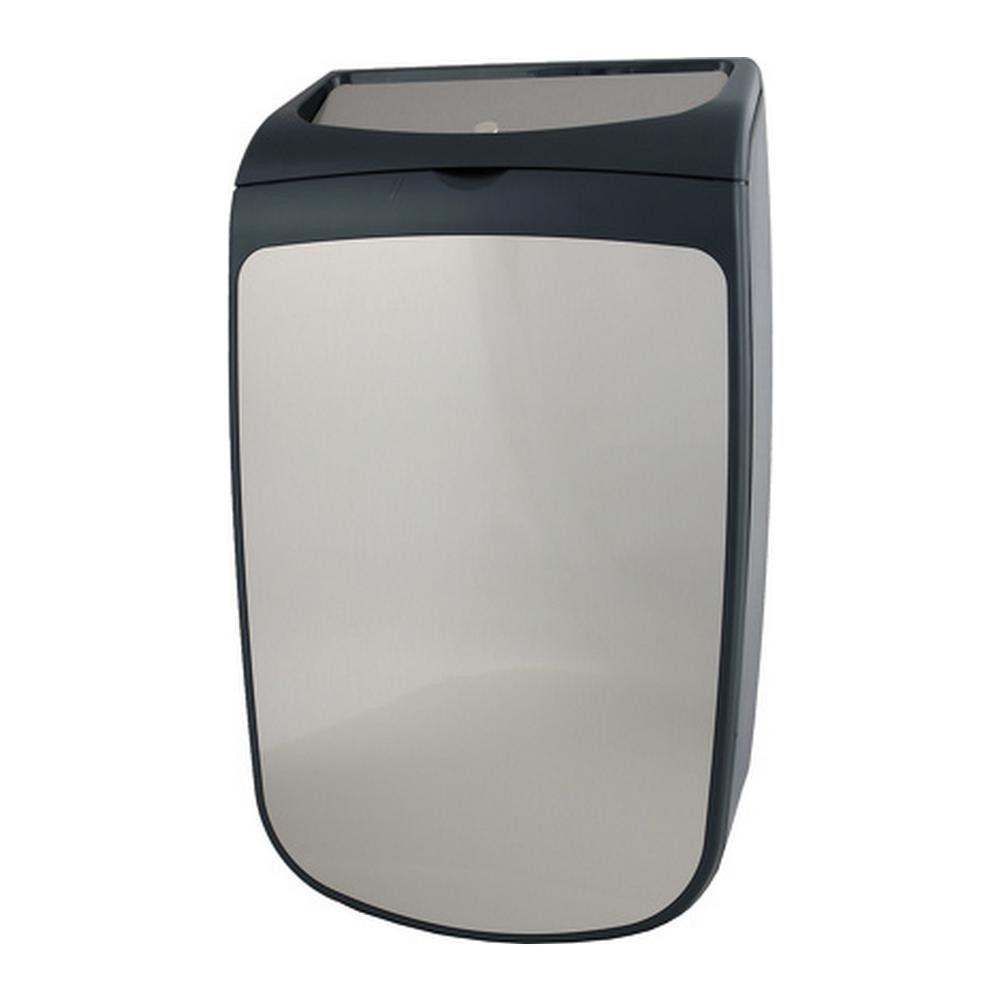 PlastiQline | Exclusive | Afvalbak gesloten | RVS-kunststof | 25 liter