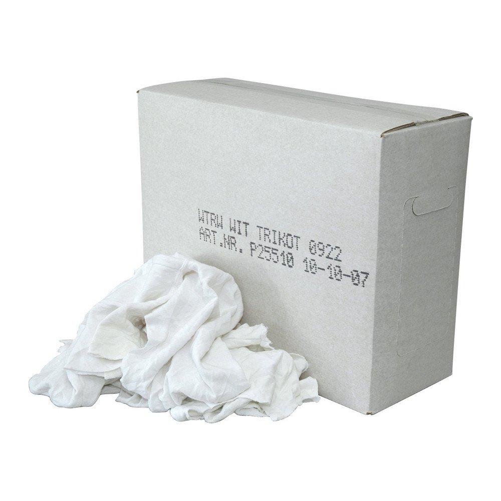 Euro Products | Poetsdoek | Witte tricot | Doos 10 kg