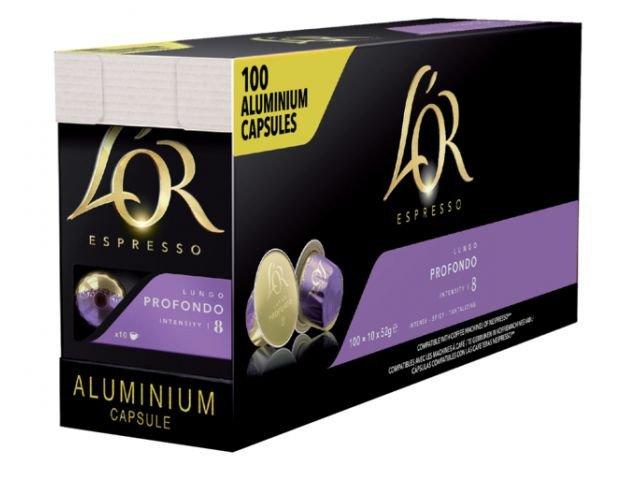 Douwe Egberts | L'Or Espresso | Lungo Profondo | 100 Cups