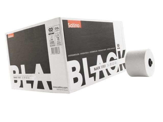 Satino Black 313830 Doprol Toiletpapier 2-laags | 24 x 100 meter