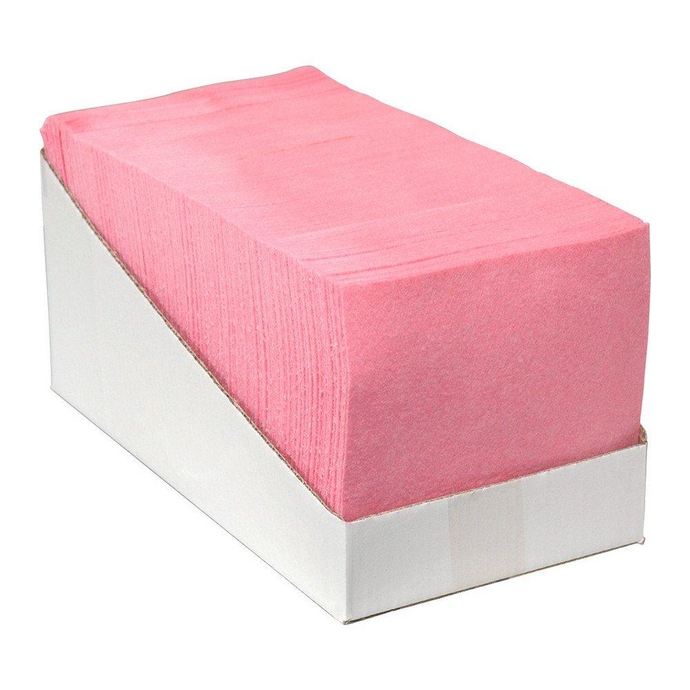 Reinigingsdoek roze 65 doeken 38x40cm
