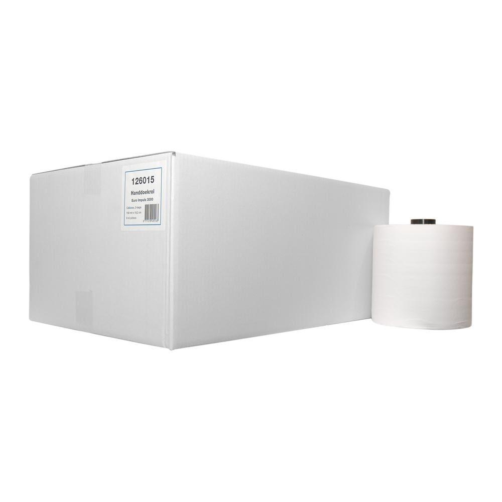 Handdoekrol cellulose kleine enmotion 6 x 150 meter