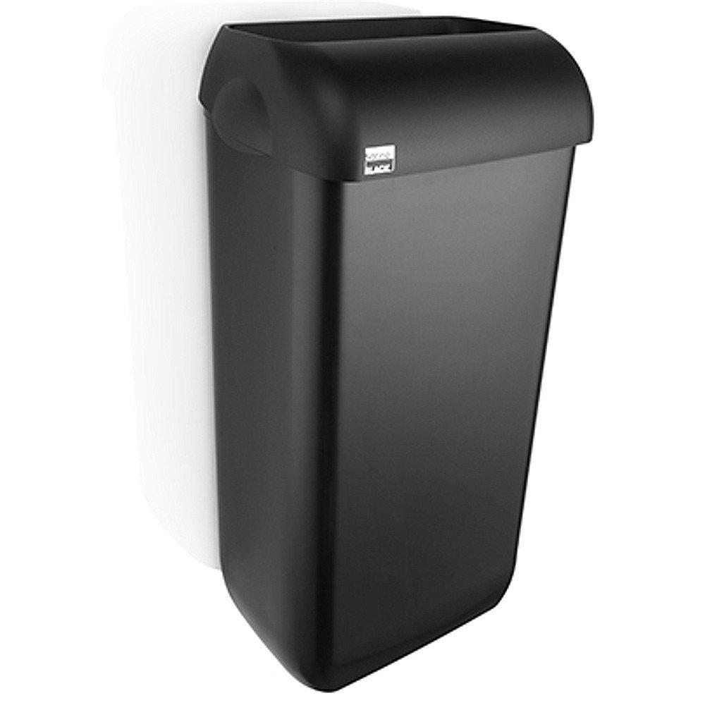 Satino Black | Afvalbak | Zwart | Inhoud: 23 liter