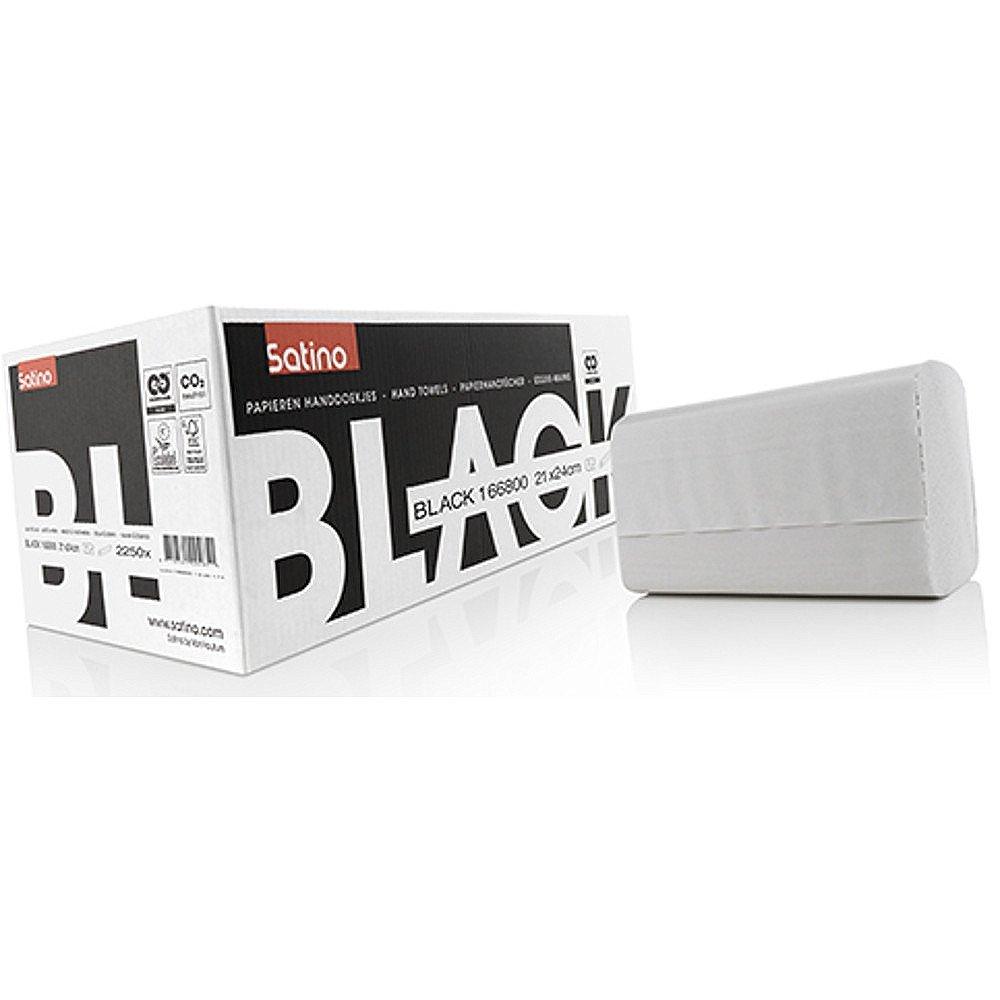 Satino Black Z-vouw handdoekjes 2-laags 21x24 cm 2250 stuks