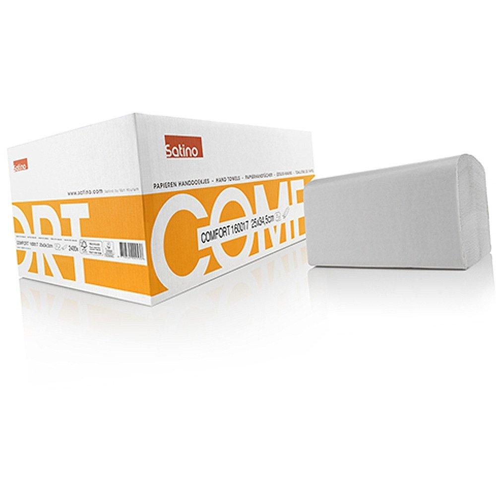 Satino Comfort 160017 handdoekjes 2-laags 25 x 34,5 cm 2400 stuks