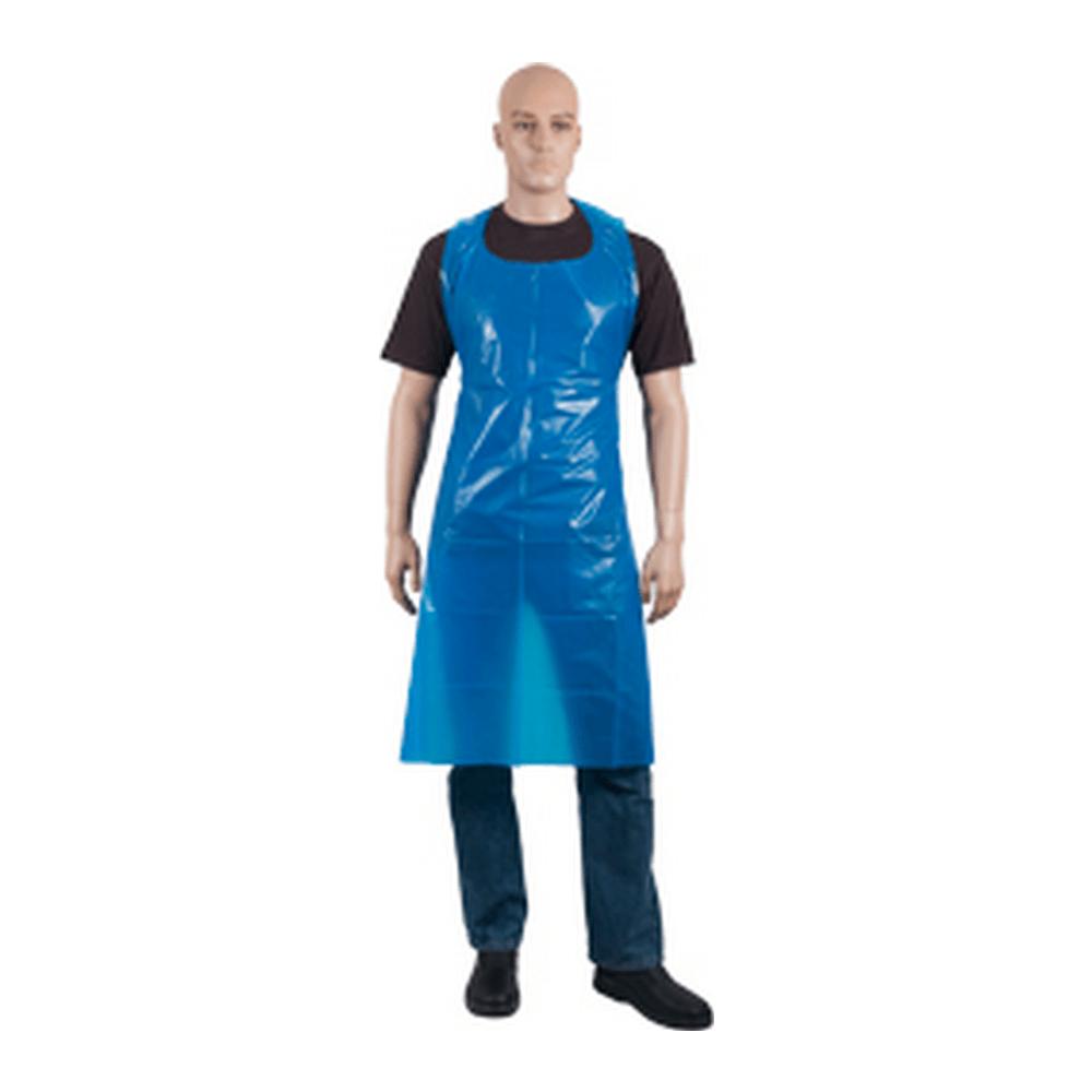 Scheurschort blauw 20 my. 81 x 125 cm. 1000 st