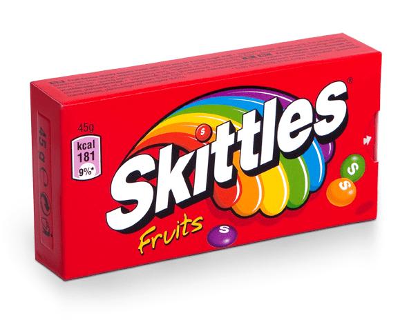 Skittles   Fruit   16 x 45 gram