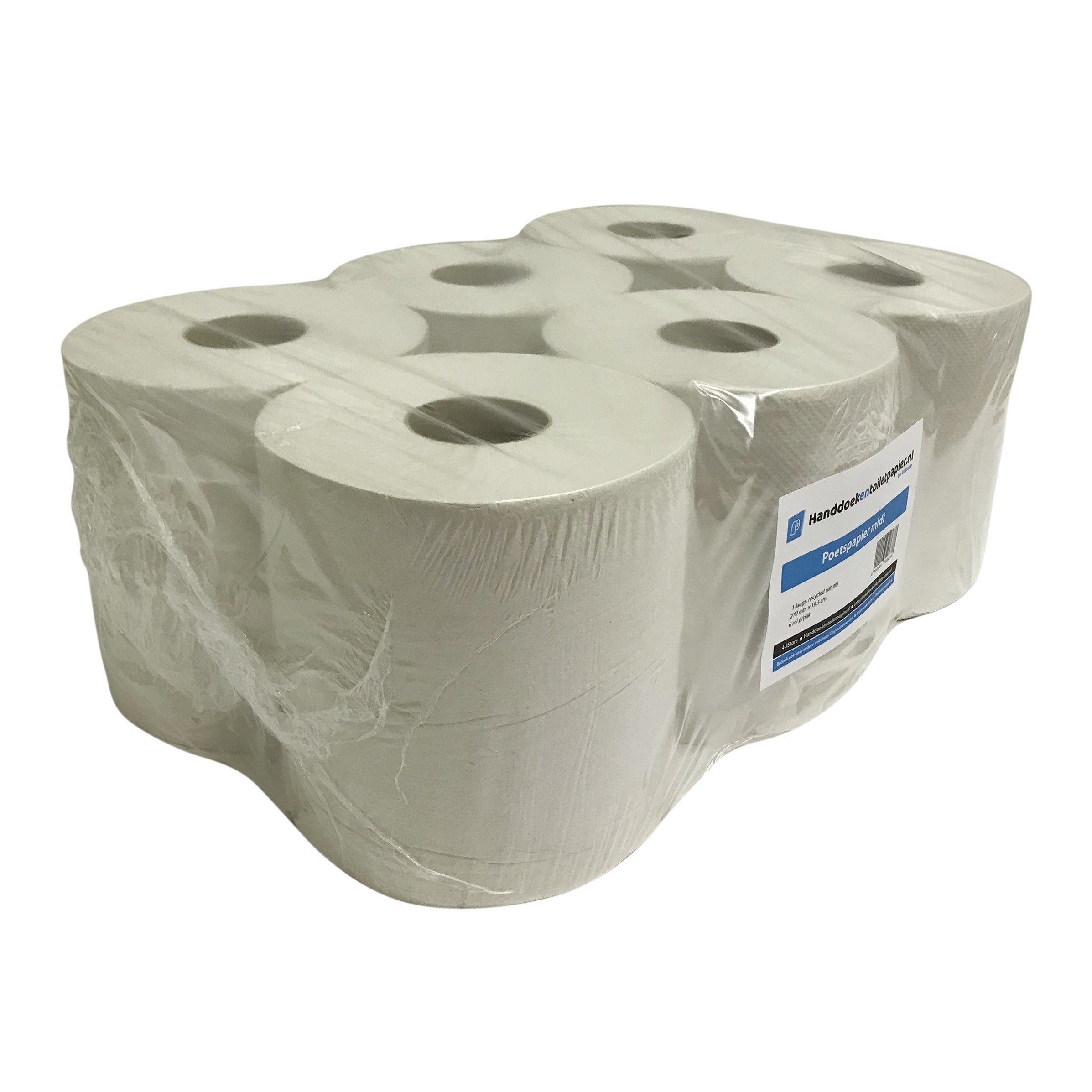 4UStore Midirol recycled tissue 1-laags 6 x 300 mtr