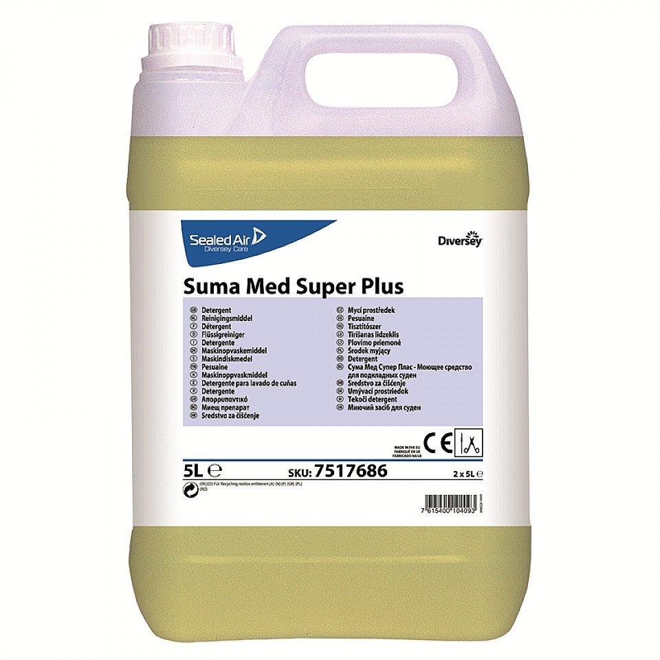 Suma Med Super Plus Bedpanspoelreiniger 2 x 5 liter