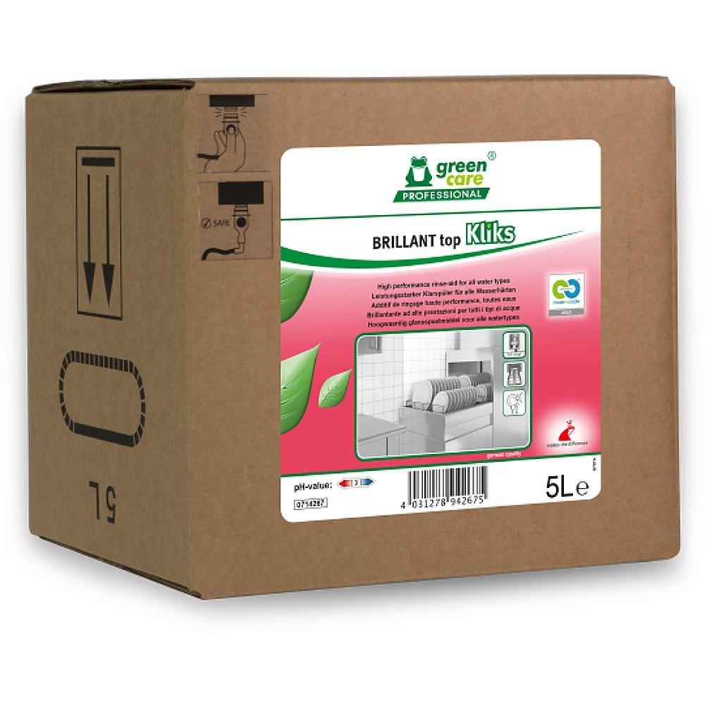 Tana Green Care | Brilliant topKliks | Glansspoelmiddel | Bag-in-box 5 liter