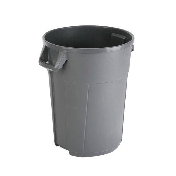 Titan | Afvalbak | Grijs | 85 liter