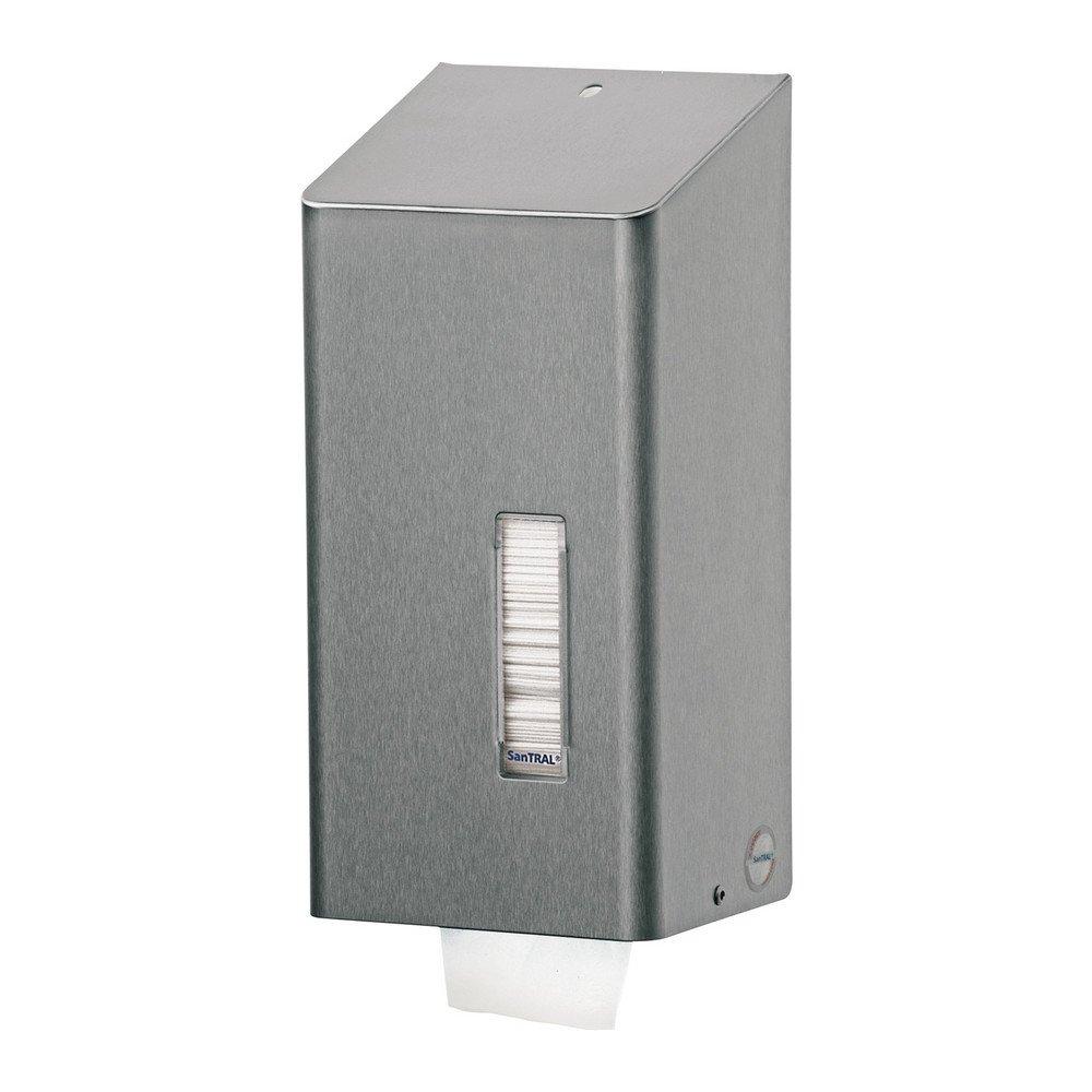Santral | Toiletpapierdispenser | Bulkpack | RVS