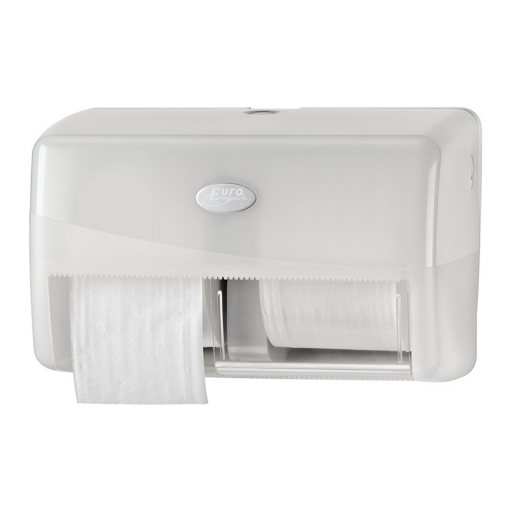 Euro Products | Toiletpapierdispenser | Coreless Duo | Wit