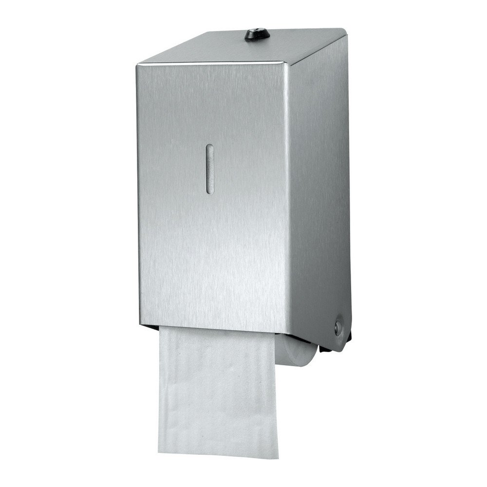 Euro Products | Toiletpapierdispenser | Doprollen | RVS Mat