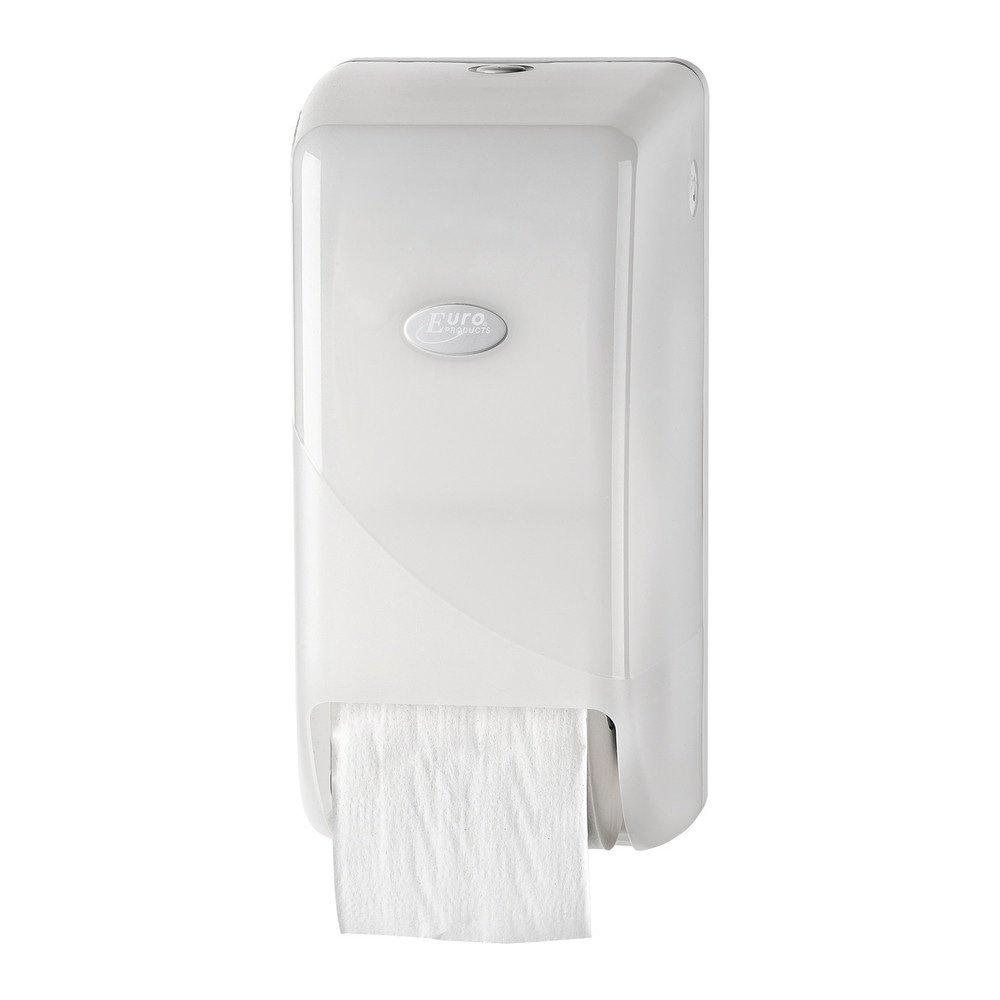 Euro Products | Toiletpapierdispenser | Doprollen | Kunststof | Wit