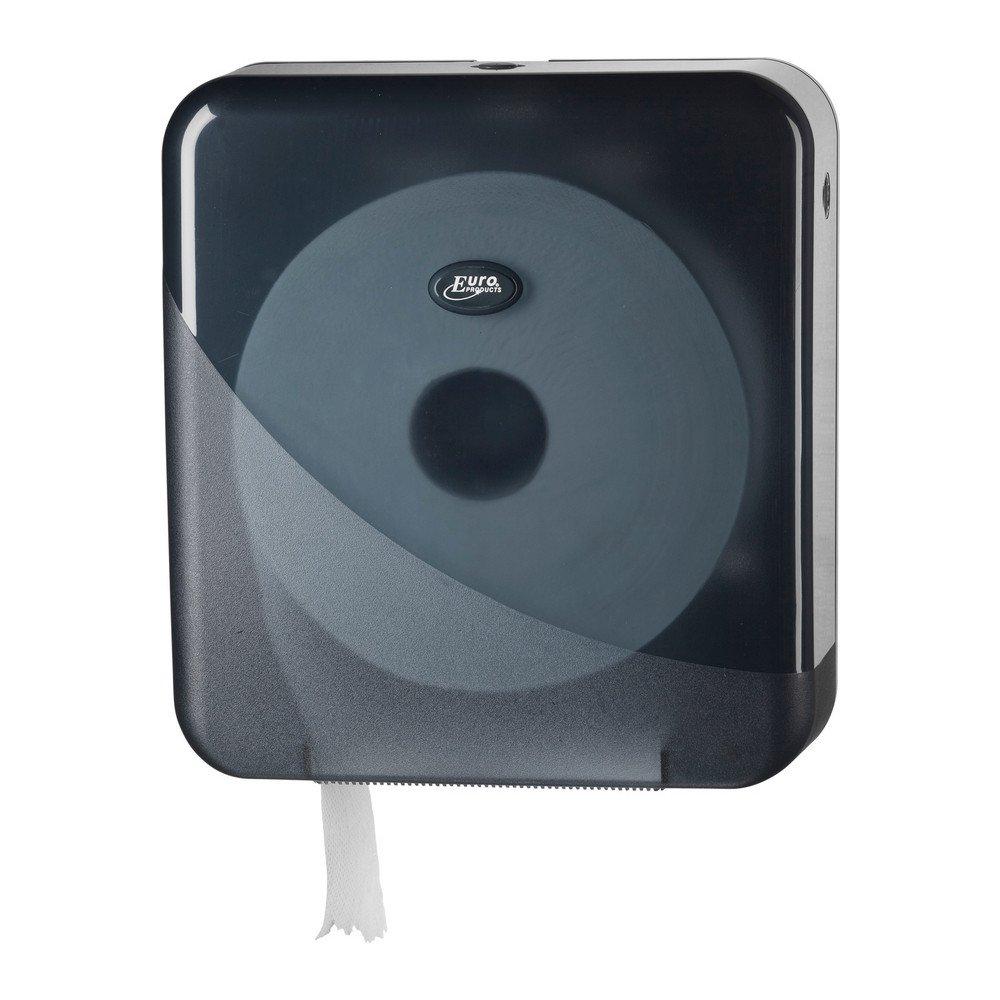 Toiletpapierdispenser Maxi Jumbo zwart