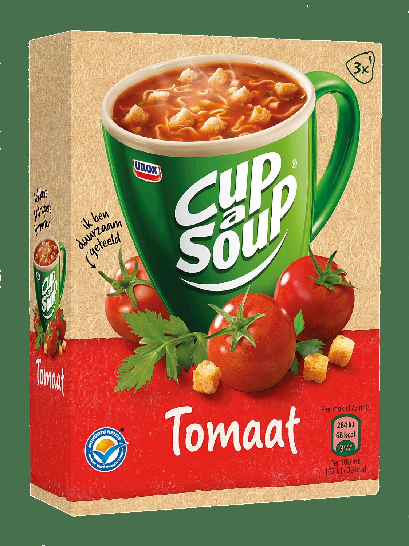 Unox Cup-a-Soup Tomaat 175 ml 21 zakjes