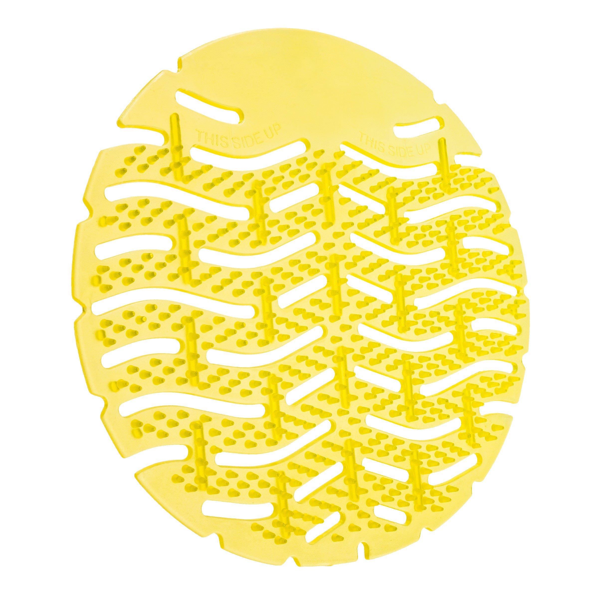 Euro Products Urinoirmat | Lemon Geel | Met antispat haartjes | 10 stuks
