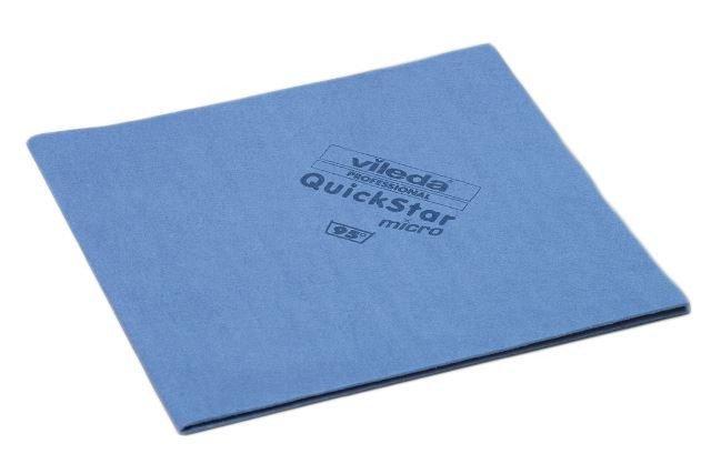 Vileda   Quickstar   Microvezeldoek   Blauw   5 stuks
