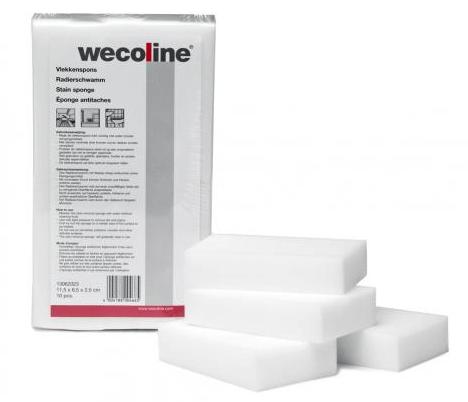 Wecoline | Vlekkenspons | 10 stuks