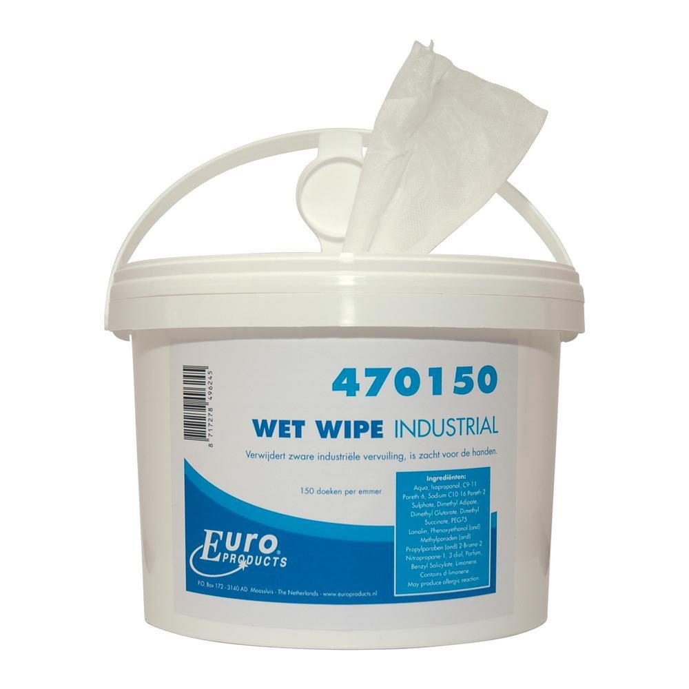 Euro Products Wet wipes 150 stuks x 4 emmers