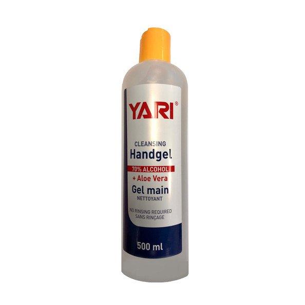 Yari Handgel 70% alcohol met Aloë Vera 500 ml