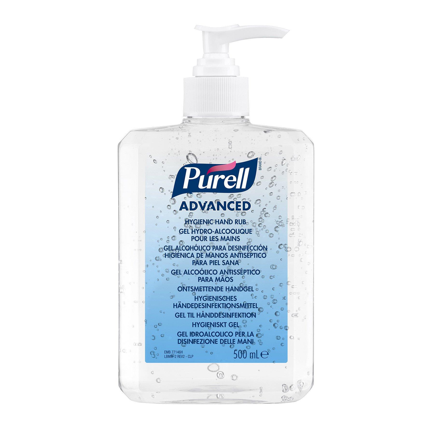 Gojo Purell Advanced desinfecterende handgel 12 x 500 ml