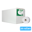 Euro Products | Toiletpapier | Compact 2-laags | Wit | 24 x 100 meter