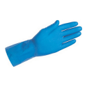 H H handschoen blauw latex L