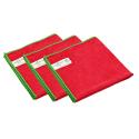 Greenspeed Basic Microvezeldoeken   Rood   10 stuks