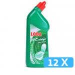 Loda wc gel groen 12 x 750 ml
