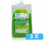 Ecodos vloerreiniger ultra 3 x 1,8 liter