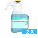 Suma Multipurpose Cleaner D2.3 SmartDose 2 x 1,4 liter