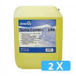 Suma Combi+ LA6 2 x 5 liter machinaal vaatwasmiddel
